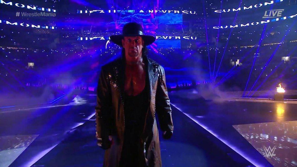 The Undertaker explica por qué sus entradas son tan largas 1