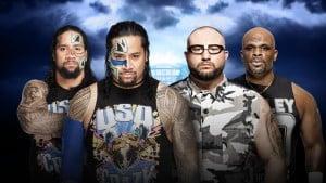 Los Usos vencen a los Dudley Boyz en el Kickoff de WrestleMania 32 4