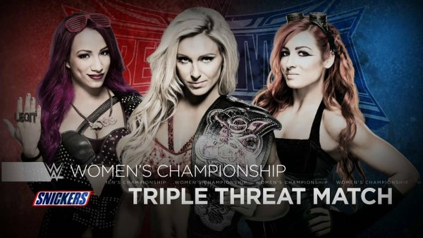 WrestleMania 32 - Divas Triple Threat