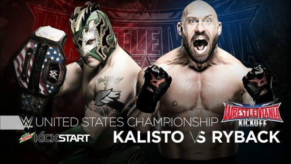 WrestleMania 32 - Kalisto vs Ryback