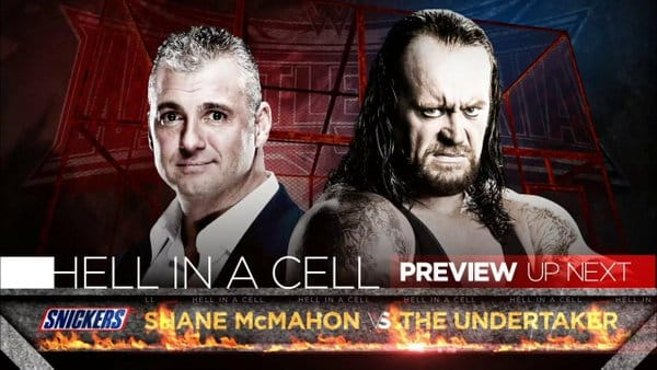 WrestleMania 32 - Shane McMahon vs The Undertaker