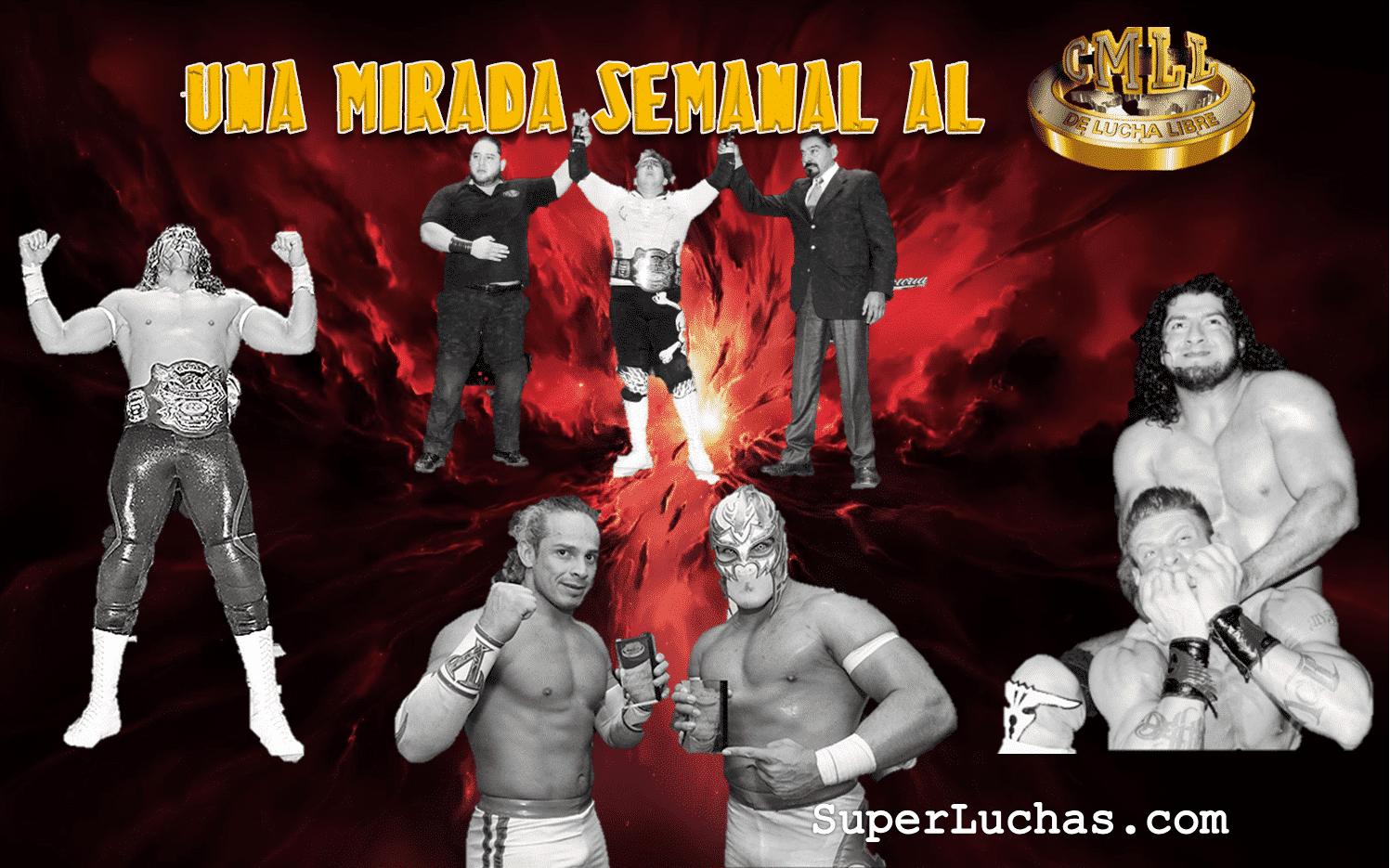 CMLL: Una mirada semanal al CMLL (del 31 de marzo al 6 de abril de 2016) – Rush va por Corleone, Bucanero retiene en aniversario de la Coliseo, Esfinge se lleva la Gran Alternativa, LA Park en Elite y mucho más... 1