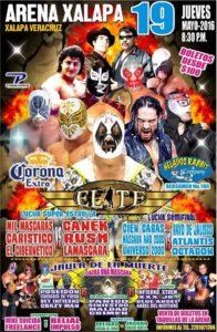 Lucha Elite en Xalapa.