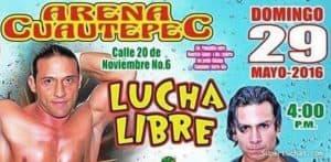 En la Arena Cuautepec: Toscano y Oficiales vs. Danny Casas y Tortugas Ninja 7