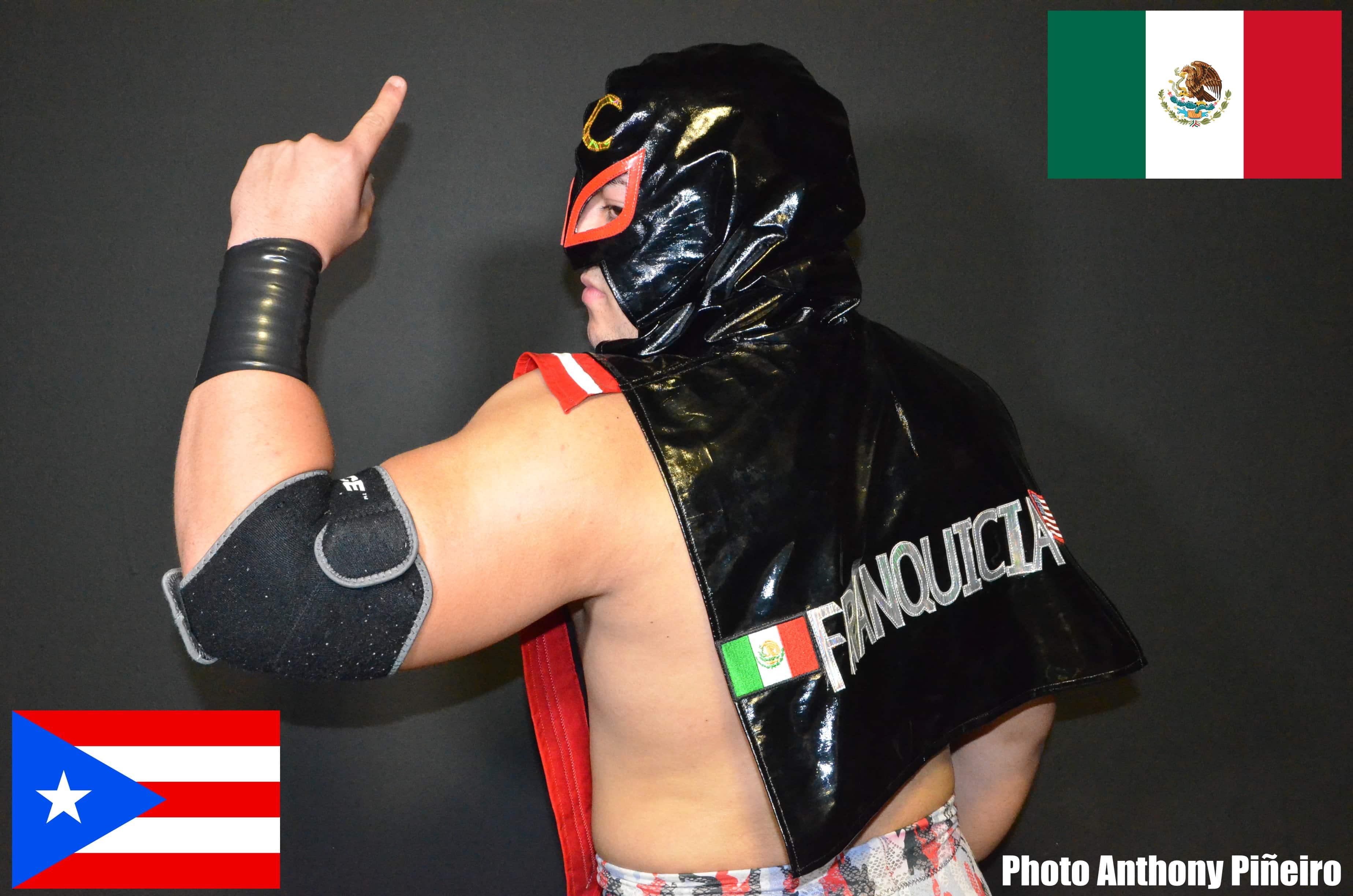 """VIDEO: """"La Franquicia"""" JC Navarro le envía un mensaje a Ultimo Dragon para la DRAGONMANIA 11 en la Arena México 10"""