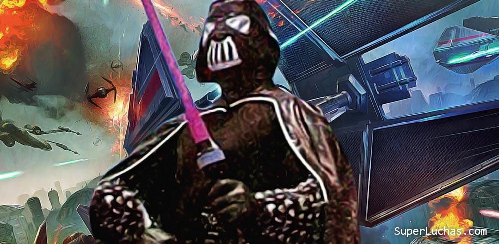 Cinco luchadores mexicanos con personajes inspirados en Star Wars 5