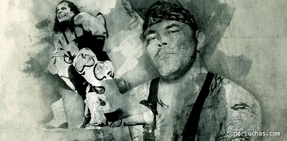 Cuando Konnan le enseñó a Bret Hart a aplicar el Sharpshooter 1