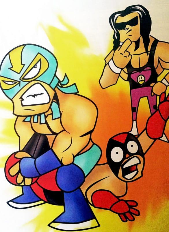 Súper Luchas Gráfico #9 (13 de marzo de 2006) / Arte: Rafael Pantoja.
