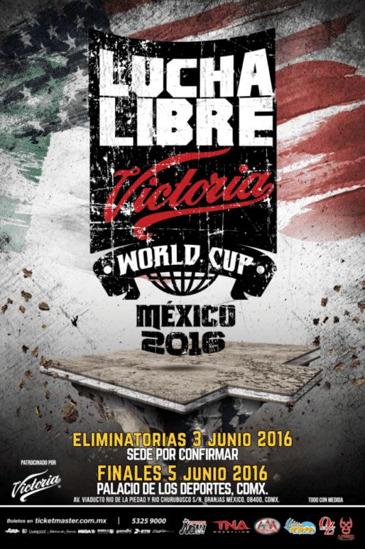 Lucha libre world cup 2016 cartel