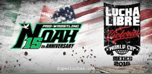 Pro Wrestling NOAH: La empresa confirma su asistencia a Lucha Libre World Cup 2