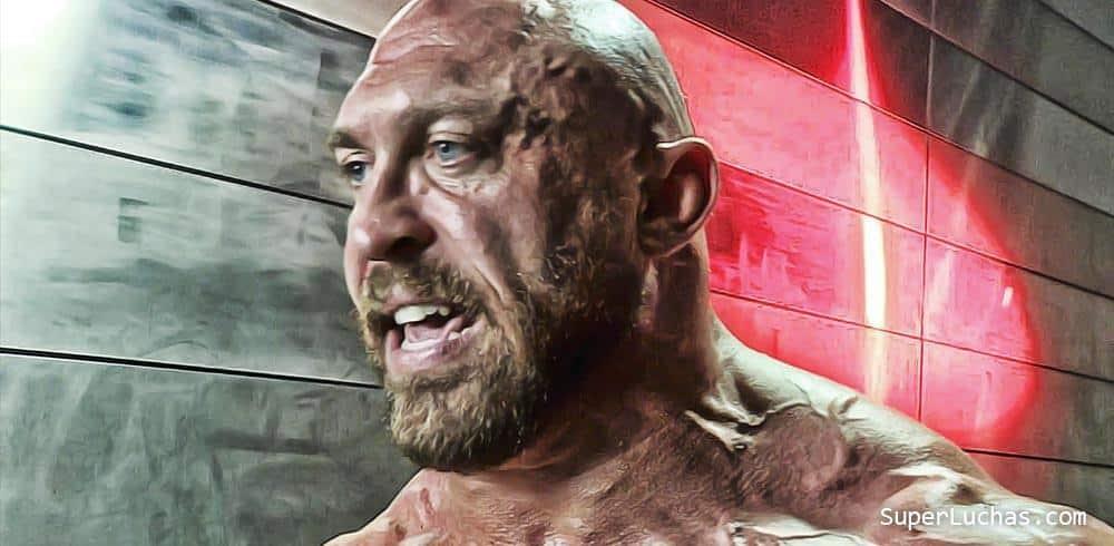 Las últimas y fuertes palabras de Ryback en las oficinas de WWE 2