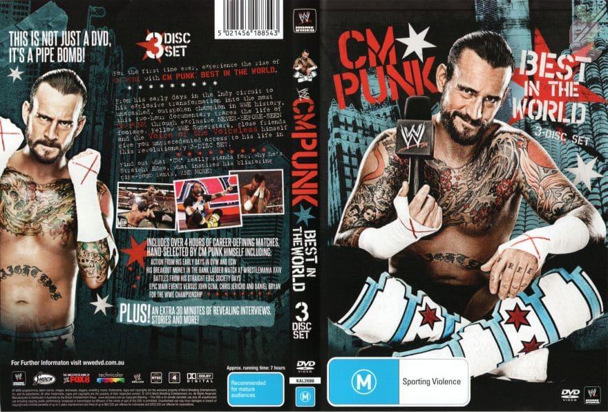 CM Punk: Best in the World - WWE DVD