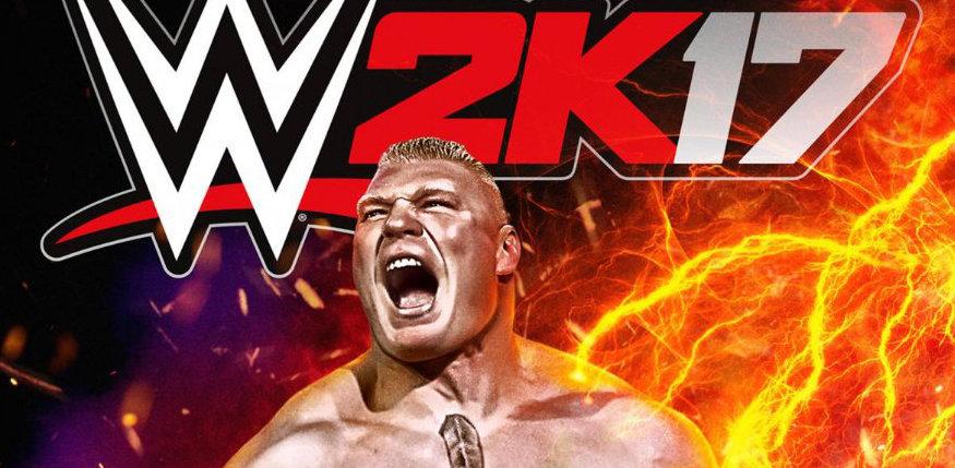 Brock Lesnar será la portada de WWE 2K17 2