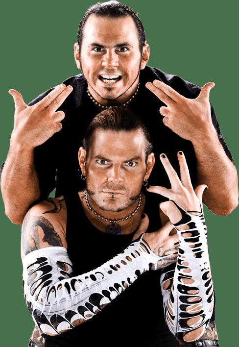 The Hardy Boyz (Jeff y Matt Hardy) / WWE©