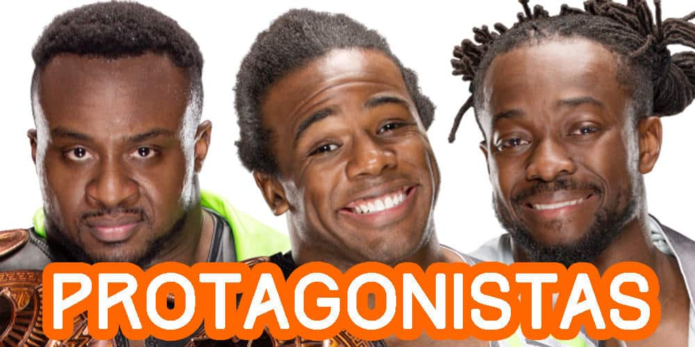 The New Day protagonistas