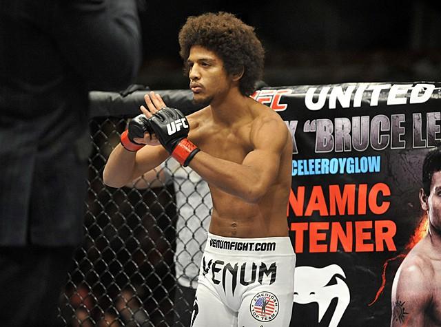 "Alex ""Bruce Leeroy"" Caceres, otra sorpresa más del UFC 199 1"