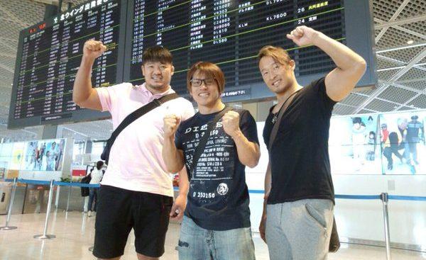 Los equipos japoneses viajan rumbo a México para el torneo Lucha Libre Wold Cup 39
