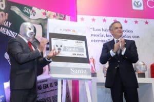 El Sistema de Transporte Colectivo Metro de la CDMX lanza boleto conmemorativo de Santo, el Enmascarado de Plata 57