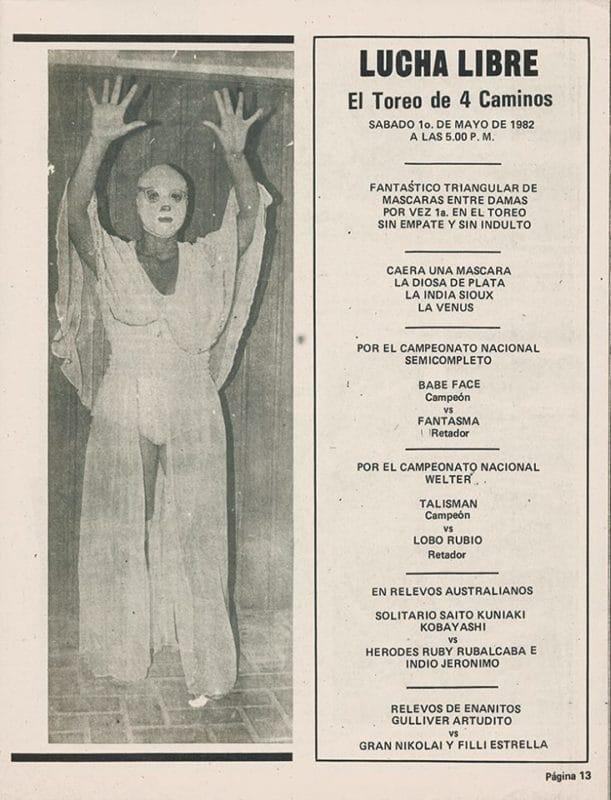 La Venus vs. Diosa de Plata vs. India Sioux, estelar en El Toreo