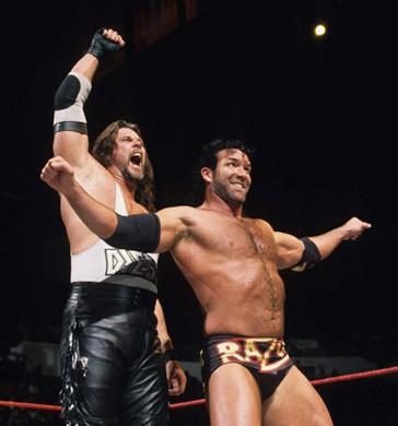 Diesel y Razor Ramon en WWF