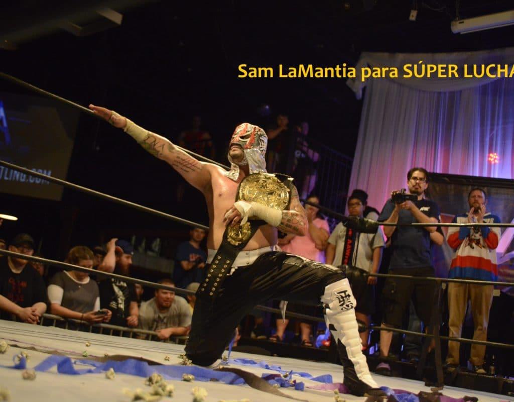 Pentagón Jr. derrotó a Sami Callihan y es el nuevo monarca AAW 4