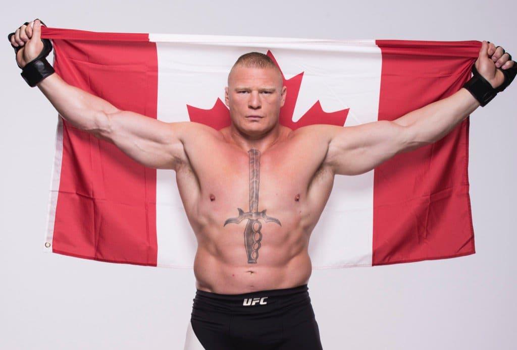 Brock Lesnar representará a Canadá en UFC 200 / Twitter.com/UFC_CA