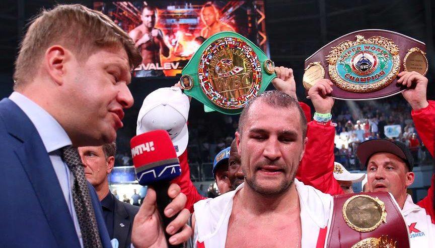 Sergey Kovalev retiene cinturones de peso semi completo 8