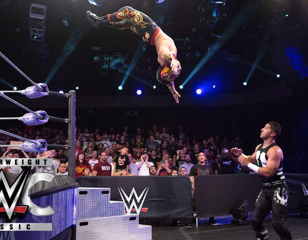 Lince Dorado vs. Mustafa Ali - Combate en primera ronda: Cruiserweight Classic, 20 de julio de 2016 // WWE.