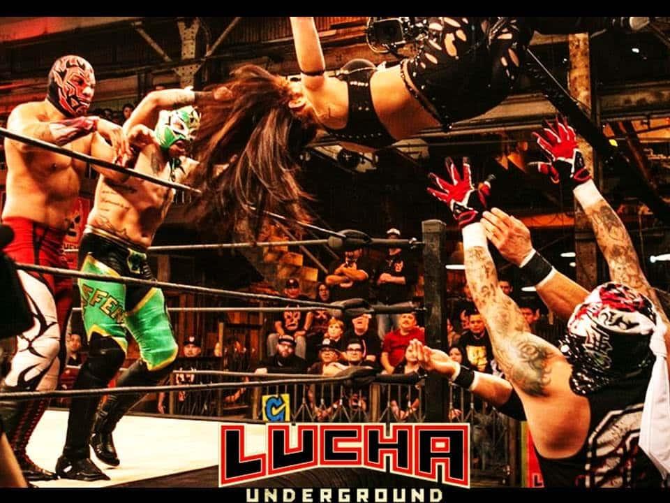 Impact Wrestling vs. Lucha Underground en la WrestleCon 2018 2