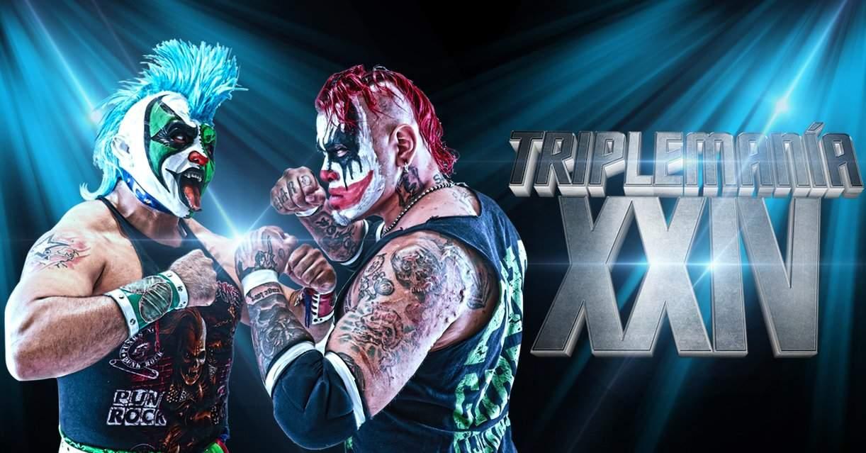 AAA: Confirmado el primer duelo para Triplemanía XXIV 12