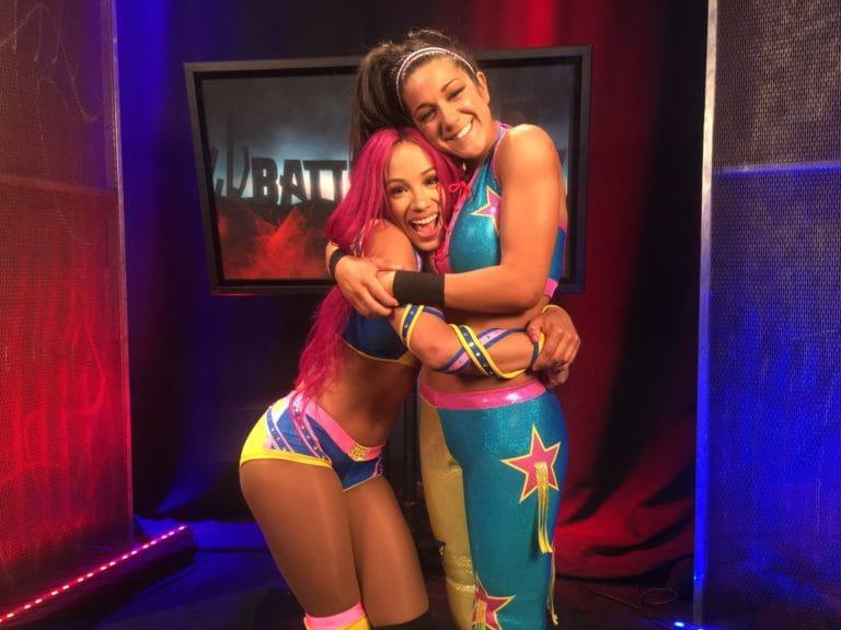 Sasha Banks vs. Bayley
