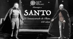 Santo, el Enmascarado de Plata será la imagen del Tur de Cine Mexicano 2016. 12
