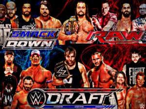 WWE Draft 2016 / Wallpaper by: AmbriegnsAsylum16 - DeviantArt.com