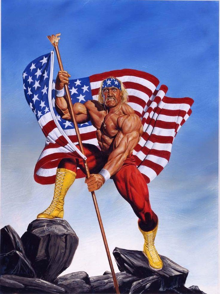 Hulk Hogan, ídolo y patriota estadounidense