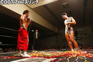 "DDT: Resultados ""DDT Super Star Lane 2016"" - 03/07/2016 - Konosuke Takeshita se mantiene como firme monarca; el retorno de Dick Togo 39"