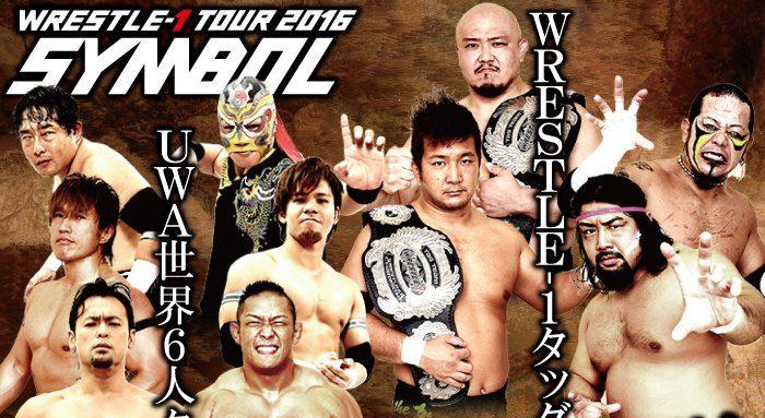 """W-1: Resultados """"Wrestle-1 Tour 2015 Symbol"""" - 29/07/2016 - 2 Títulos en juego 1"""