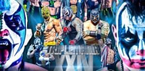 Cobertura y resultados: Triplemanía XXIV — Psycho Clown rapa a Pagano — Texano Jr. retiene el Megacampeonato AAA 38
