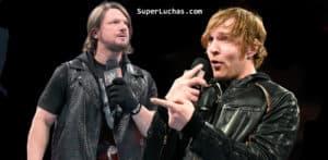 AJ Styles y Dean Ambrose cara a cara / SÚPER LUCHAS - SuperLuchas.com