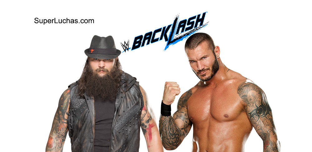 Bray Wyatt vs. Randy Orton en WWE Backlash 2016 / SÚPER LUCHAS - SuperLuchas.com