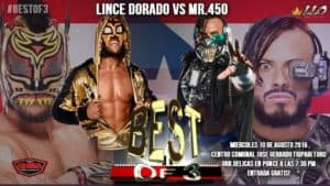 VIDEO: 100% Lucha presenta Mr.450 vs Lince Dorado en Puerto Rico 5
