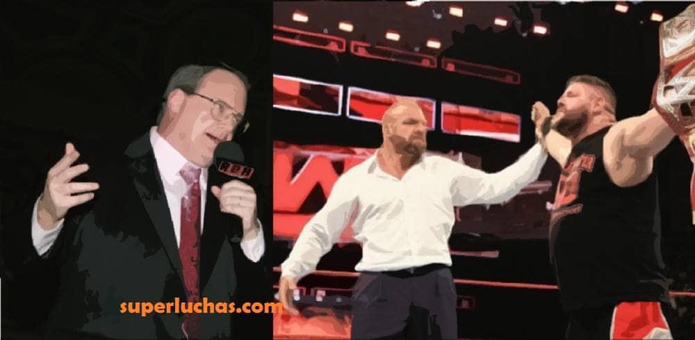 Jim Cornette, el artífice de Kevin Owens, reacciona a la coronación de éste como Campeón Universal WWE 12