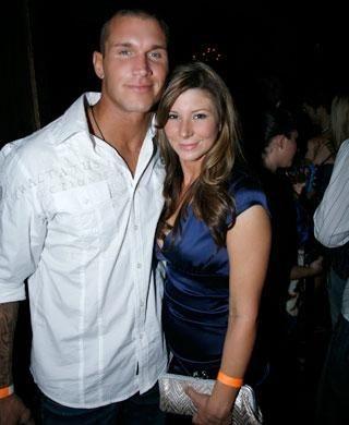 Randy Orton y Samantha Speno, su primera esposa / FabWags.com