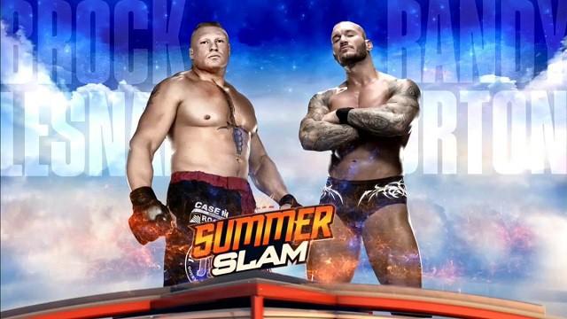 SummerSlam 2016 - Brock Lesnar v Randy Orton