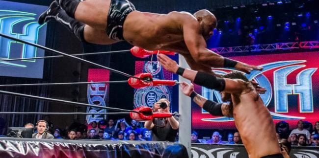 """RoH: Resultados """"Death Before Dishonor XIV"""" - 19/08/2016 - Adam Cole nuevo Campeón Mundial RoH; las estrellas de NJPW engalana la velada 1"""