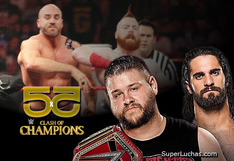 5x5: Lo mejor y lo peor de WWE Clash of Champions 2016 1