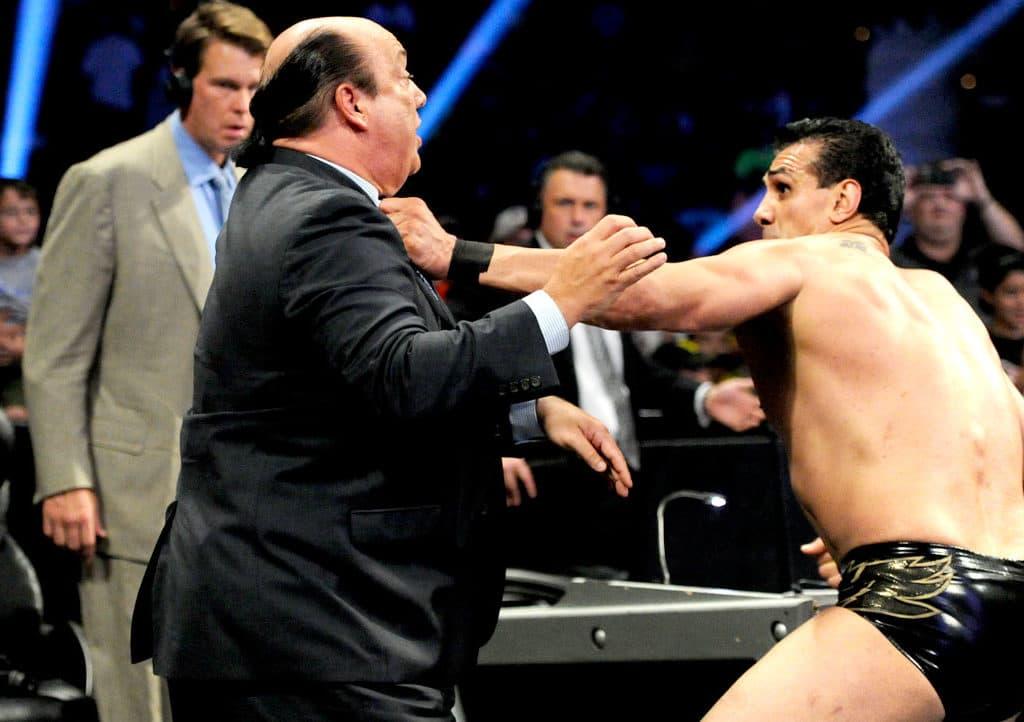 Alberto del Río golpea a Paul Heyman (septiembre 2013) / WWE©