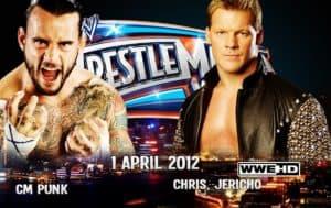 CM Punk vs. Chris Jericho por el WWE Championship en WWE WrestleMania 28
