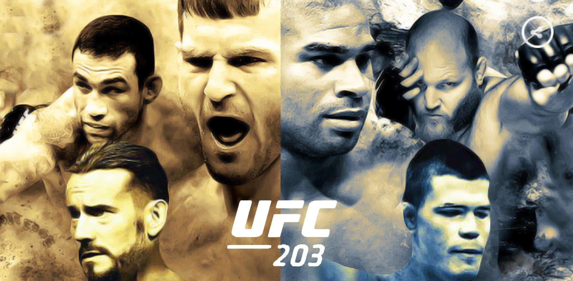 Cobertura y resultados: UFC 203: CM Punk es derrotado en su debut en las MMA — Stipe Miocic retiene el título completo 1