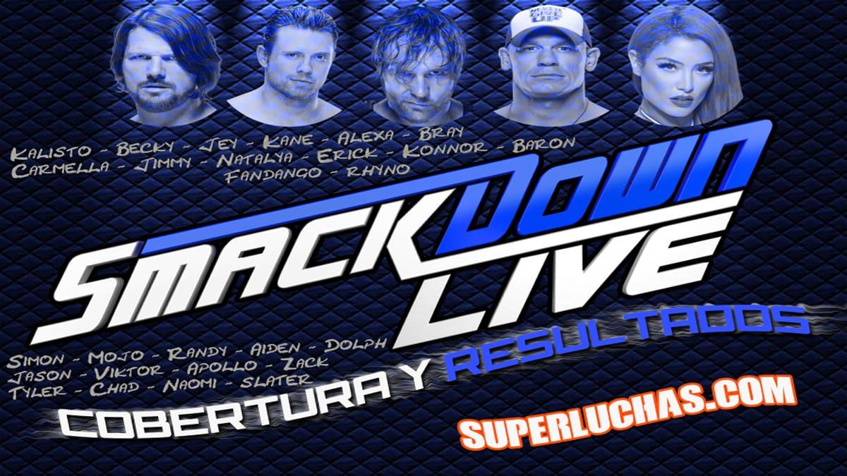 WWE SmackDown Live (Cobertura y Resultados 11/10/2016) - AJ Styles vs. James Ellsworth 1