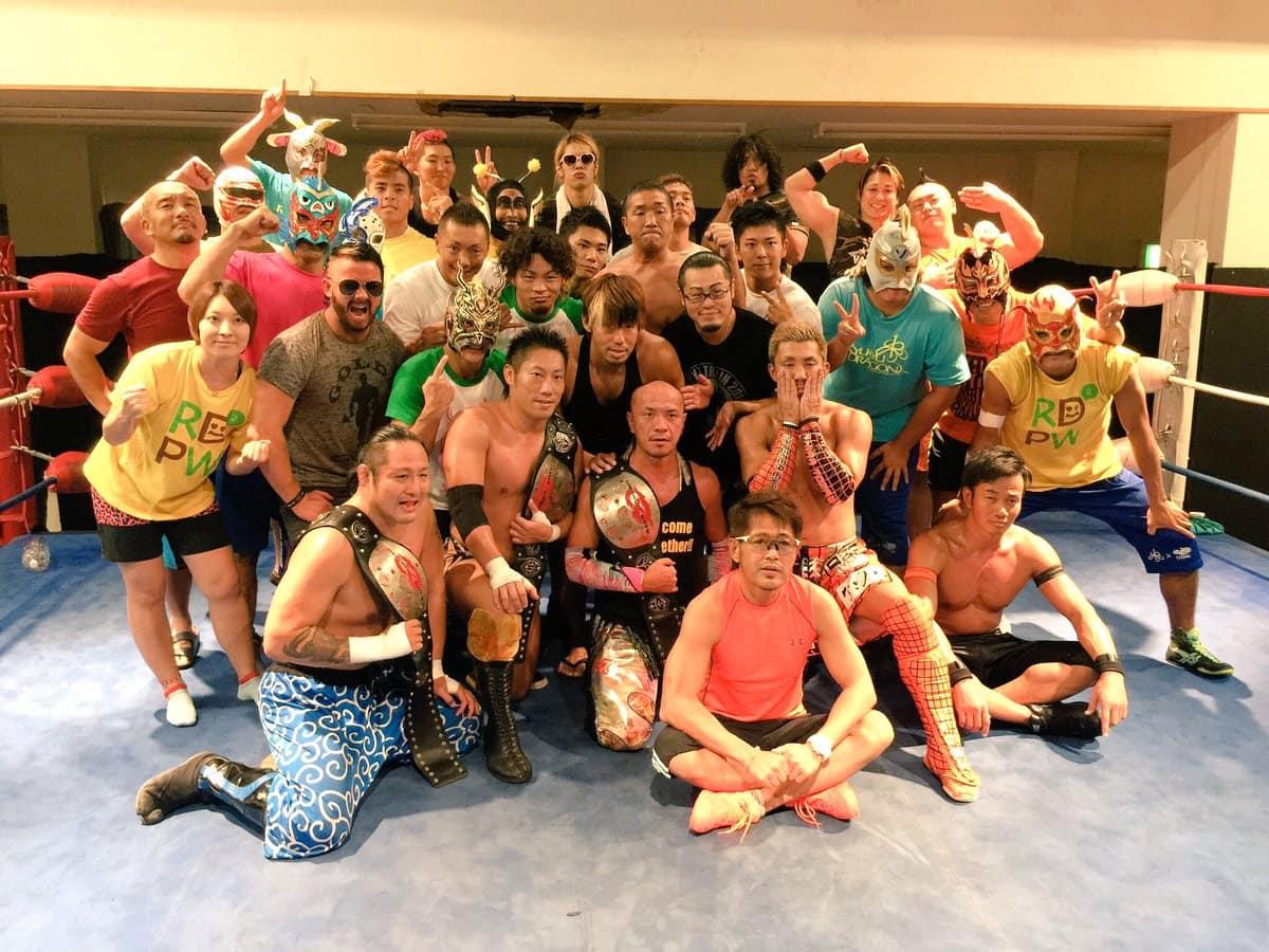 """Dragon Gate: Resultados """"Summer Adventure Tag League 2016"""" - 03 y 04/09/2016 - Naruki Doi y """"brother"""" YASSHI líderes de grupo 31"""